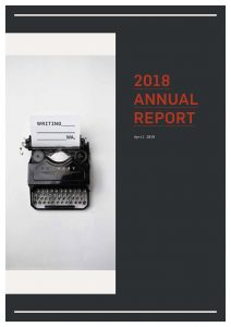 Cover of Writing WA 2018 Annual Report