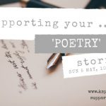 KSP Supporting Poetry workshop logo