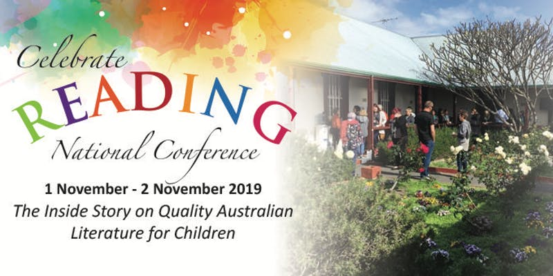 logo for Celebrate Reading National Conference