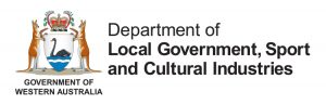 Logo for Department of Local Government, Sport and Cultural Industries