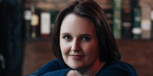 close up of author Dervla McTiernan