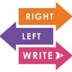 Three alternating arrows with right, left and write written on them.