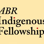 Image: Plain background with the words 'ABR Indigenous Fellowship'