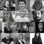 Image: collage of images of poets featured in the journal