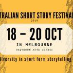 Image: Australian Short Story Festival poster
