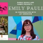 Image: book cover of Well Behaved Women and photo of Emily Paull