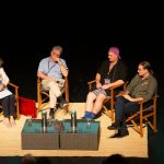 Panellists in Different Minds session at Quantum Words Perth