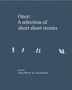 Book cover of Once: A selection of short short stories