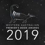 Western Australian Premier's Book Awards 2019 logo with an image of a numbat