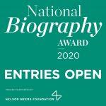 National Biography Award 2020 logo