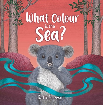 Book cover of What Colour is the Sea by Katie Stewart