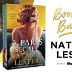 Images of Natasha Lester and book cover of The Paris Secret