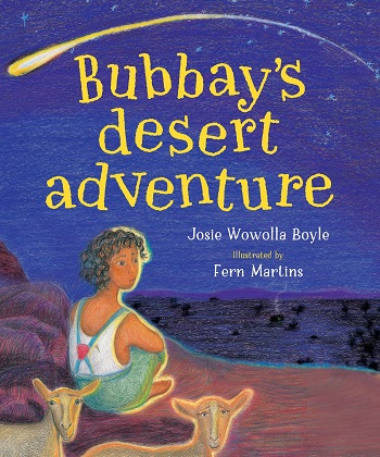 Book cover of Bubbay's Desert Adventure