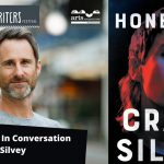 Images are of author Craig Silvey and the book cover of Honeybee