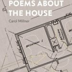 Image is the book cover for Poems about the House by Carol Millner