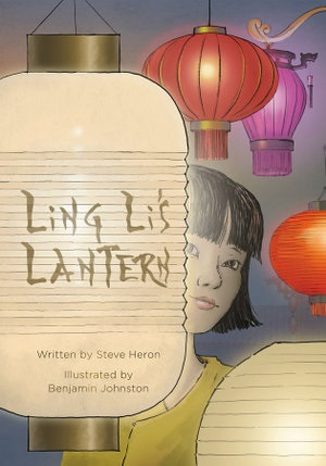 Book cover of Ling Li's Lantern