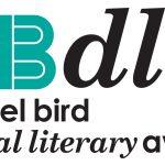 Image Description: carmel bird digital literary award logo